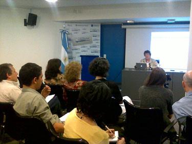Nora Sabelli en Conectar Igualdad