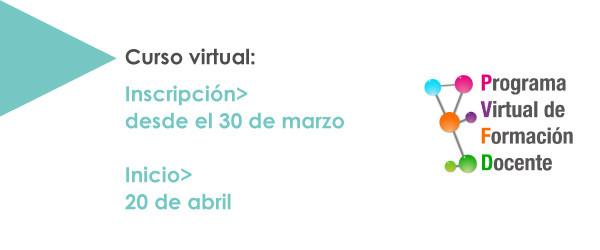 INSCRIPCIÓN ABIERTA #PVFD2016 #ModelosC3D Los invitamos a participar del curso virtual Modelos conceptuales en 3D: recursos para habitar espacios de enseñanza y aprendizaje en tres […]
