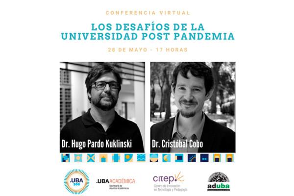 Conferencia virtual: Los desafíos de la universidad post pandemia